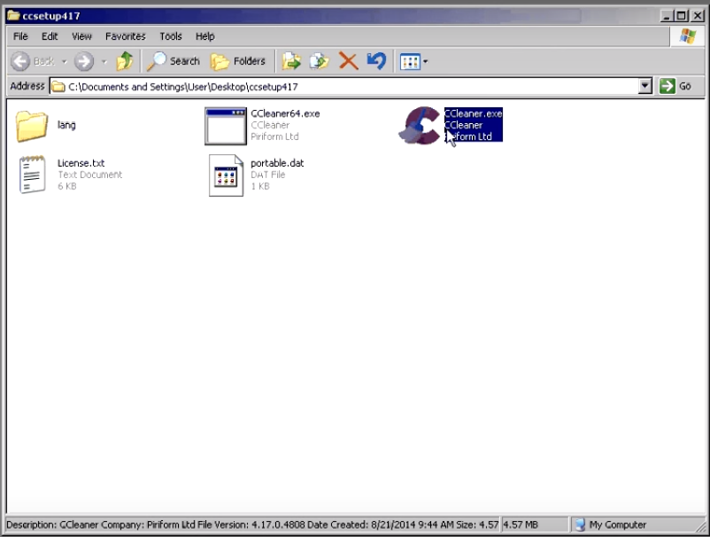 How to run and use ccleaner5