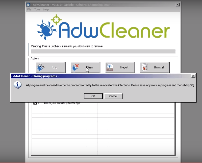 How to run and use AdwCleaner | Trench Tech